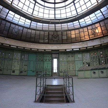 The control room of the Kelenföld Power Plant