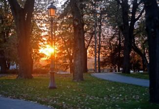 Kalemegdan at sunset