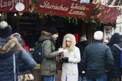 The Karlsplatz Christmas Market
