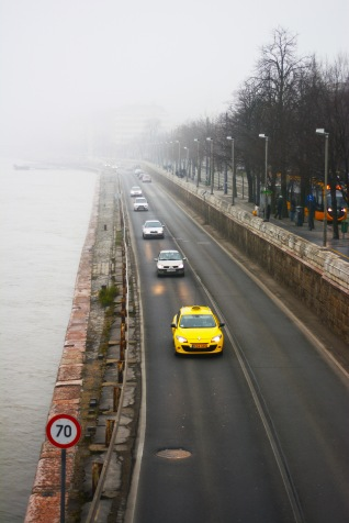January Fog along the Danube