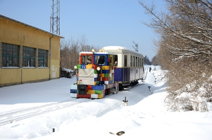 Winter at Normafa- Lego engine!