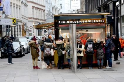 The Golden Würstel-Vienna
