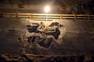 The Slănic Prahova salt mine