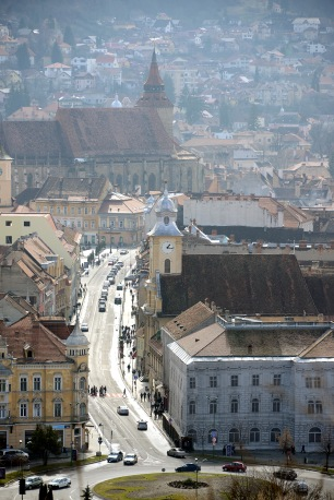 Brașov-View from the Citadel