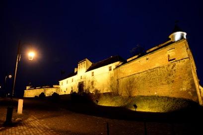 Brașov- The Citadel at night
