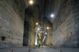 The Slănic Prahova salt mine