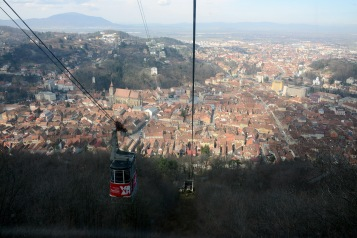 Brașov-View from the Tâmpa