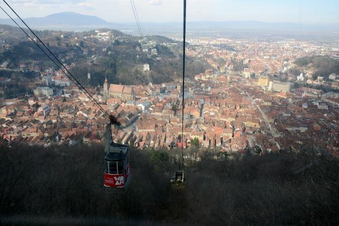 Brașov-View from the Tâmpa
