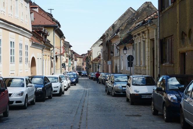 Brașov- Stag street