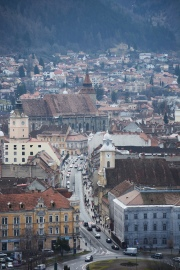 Brașov seen from the Citadel