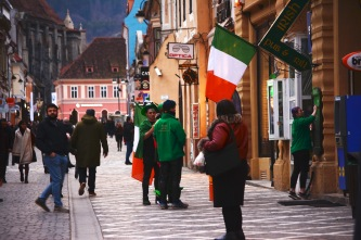 Celebrating Saint Patrick's Day in Brașov
