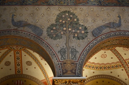 The Romanesque Hall of the Budapest Museum of Fine Arts