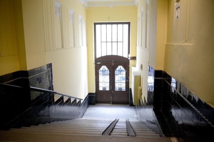 Hallway of a Palatinus house