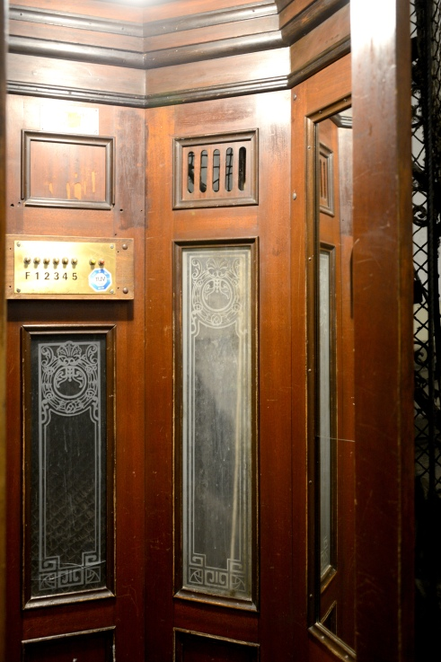 The lift in Tátra street 12/A