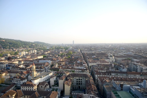 Turin- View from the Mole Antonelliana