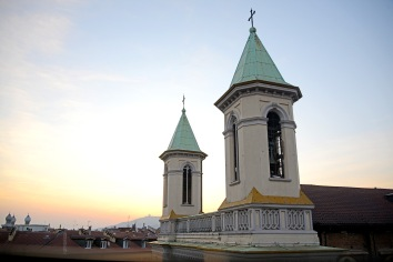 Turin- the view over the neighbourhood of San Salvario