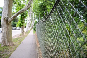 Haidekker fence in Mátyásföld