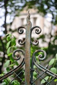 Detail of Haidekker fence