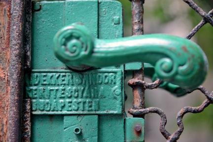 Detail of Haidekker gate