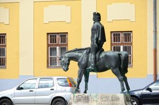Vác- The Statue of Vak Bottyán