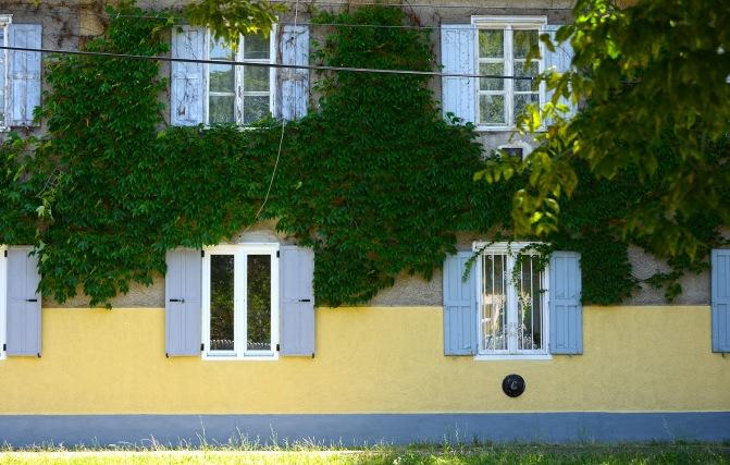 Typical windows of Wekerletelep