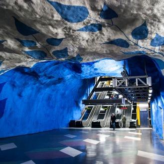 The Stockholm Metro
