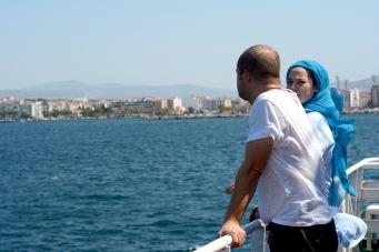 Dardanelles ferry crossing September 2018