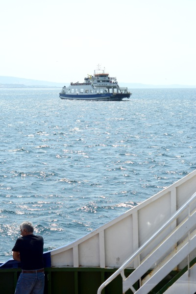 Dardanelles ferry crossing September 2018