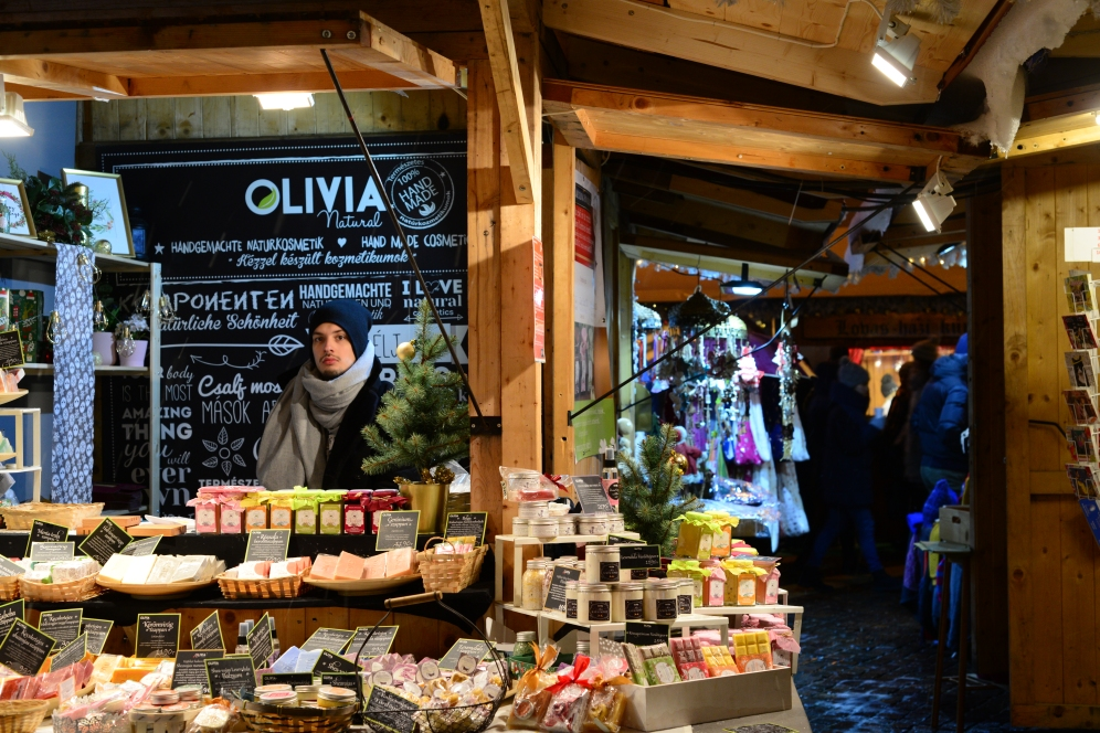 Christmas in Budapest- Saint Stephen's market