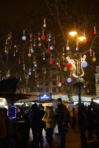 Christmas in Budapest-Vörösmarty square