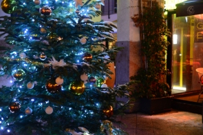 Christmas in Budapest- Gozsdu court