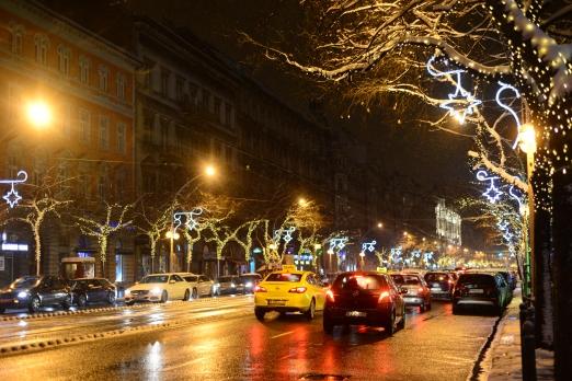 Christmas in Budapest- Teréz avenue