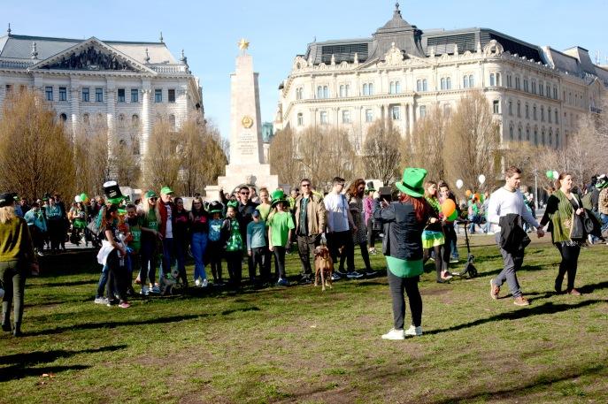The Budapest Saint Patrick's Day Parade 2019