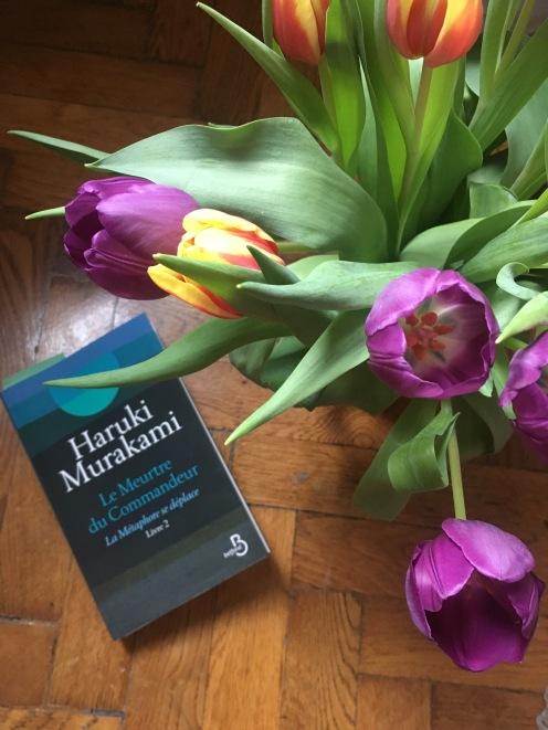 Tulips and Murakami