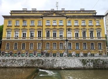 Banks of the Miljacka, Sarajevo