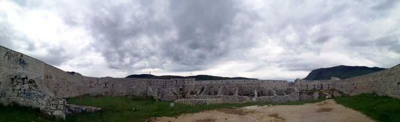Inside the White Fortress (Bijela tabija), Sarajevo