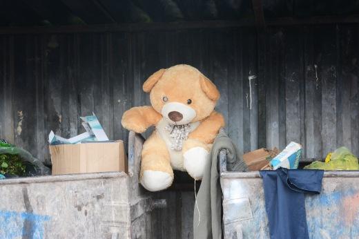 Discarded toy, Sarajevo