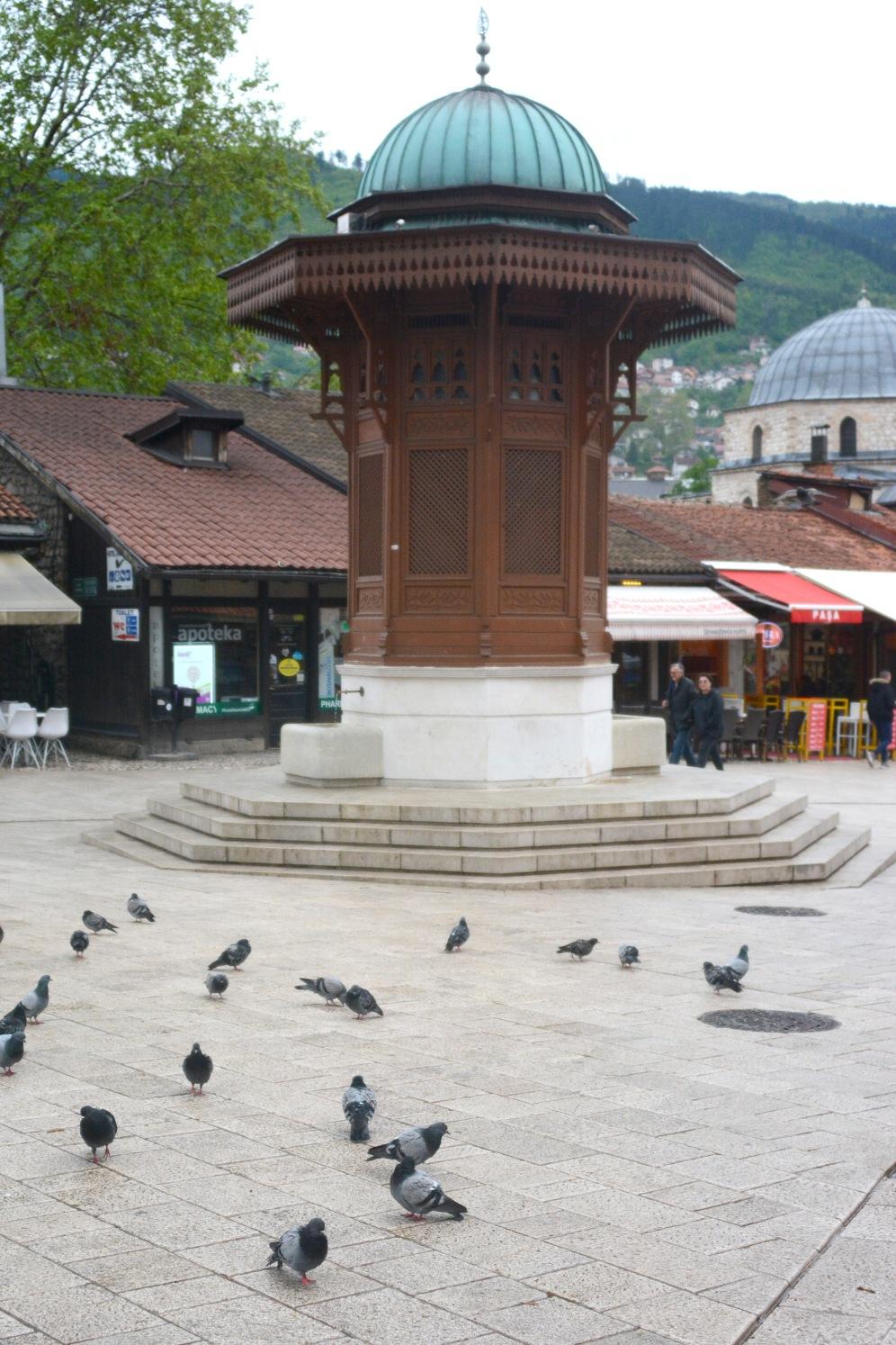 Sebilj fountain, Baščaršija, Sarajevo