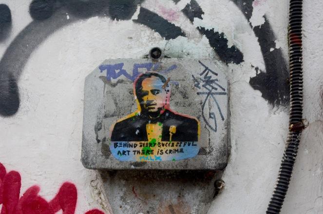Street art in Sarajevo