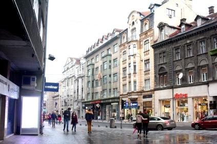 Maršala Tita street, Sarajevo