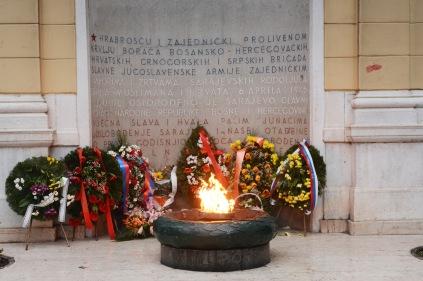 Vječna vatra (Eternal flame), Sarajevo