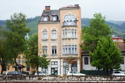 House on the banks of the Miljacka, Sarajevo