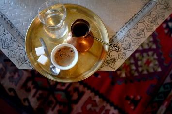 Index coffeehouse on Kazandžiluk street, Sarajevo