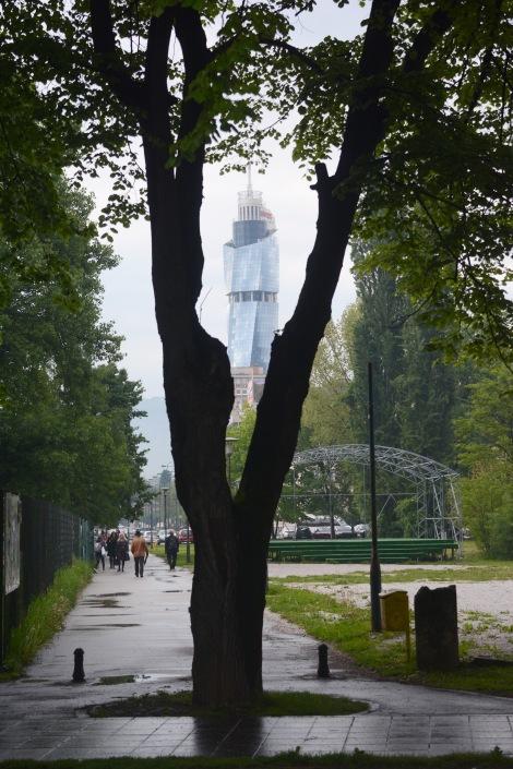 Avaz twist tower, Sarajevo
