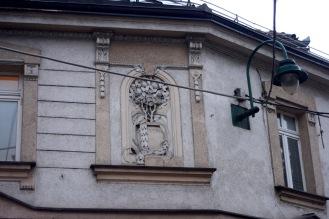 Building detail, Sarajevo