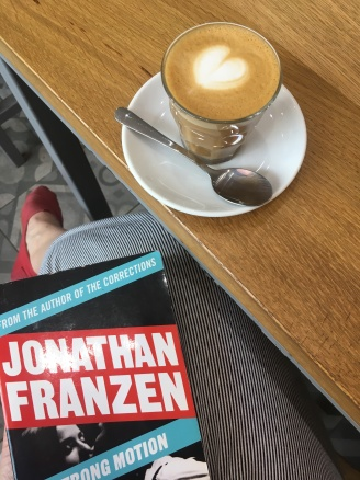 Still struggling with this Franzen at the end of the month..,