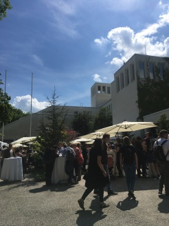 Restaurant day at the Finnish embassy in horrible contre-jour