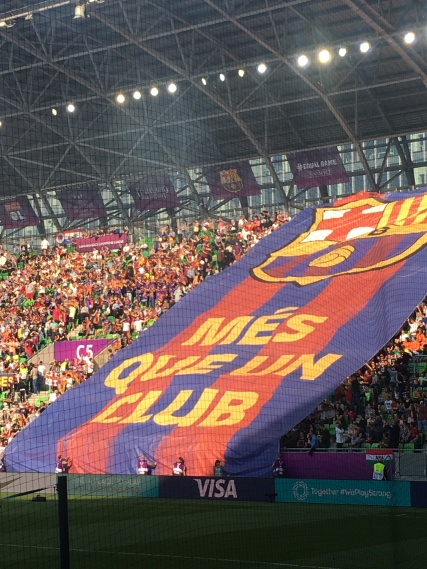 Women's UCL final in Budapest