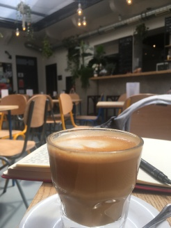 Cortado for lunch in Lumen