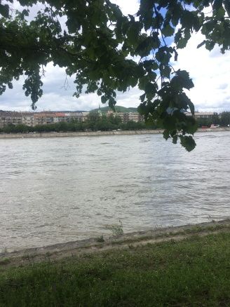 The Danube rose constantly towards the end of the month